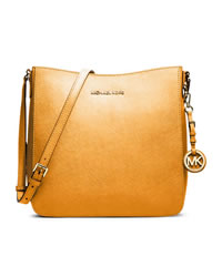 MICHAEL Michael Kors Large Jet Set Travel Messenger - VINTAGE YELLOW - 30T2GTVM3L