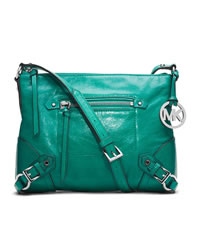 MICHAEL Michael Kors Medium Fallon Messenger - AQUA - 30T4SLOM2L