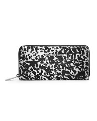 MICHAEL Michael Kors Jet Set Continental Wallet - BLACK/OPTIC WHITE - 32T4STVE3H