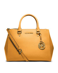 MICHAEL Michael Kors Medium Jet Set Dressy Travel Tote - VINTAGE YELLOW - 30S4GTVS6L