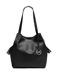 MICHAEL Michael Kors Extra Large Ashbury Grab Bag - BLACK - 30T4SABT4L