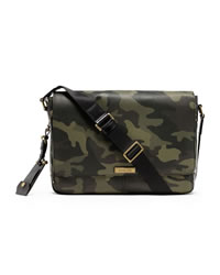 Michael Kors Men's Large Jet Set Messenger - CAMO - 33F3TMNM3R