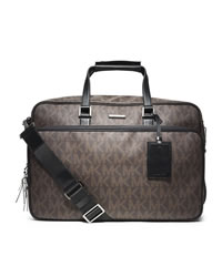 Michael Kors Men's Jet Set Travel Carry-On - BROWN - 33S4MTVV2B