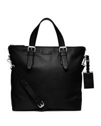 Michael Kors Large Bryant Top-Zip Tote - BLACK - 33S4SYTT7L