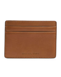 Michael Kors Men's Jet Set Card Case - LIGHT BROWN - 39S4MMND1L