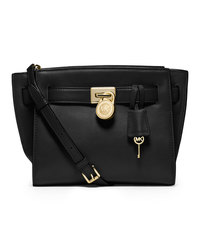 MICHAEL Michael Kors Small Hamilton Travel Messenger - BLACK - 30F4GHXM2L