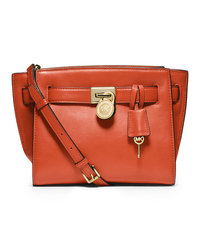 MICHAEL Michael Kors Small Hamilton Travel Messenger - ORANGE - 30F4GHXM2L