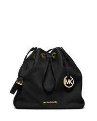 MICHAEL Michael Kors Large Jules Drawstring Shoulder Bag - BLACK - 30F4GJLL3L