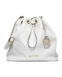 MICHAEL Michael Kors Large Jules Drawstring Shoulder Bag - OPTIC WHITE - 30F4GJLL3L