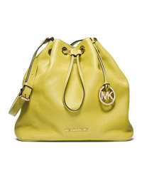 MICHAEL Michael Kors Large Jules Drawstring Shoulder Bag - APPLE (GREEN) - 30F4GJLL3L
