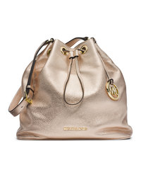 MICHAEL Michael Kors Large Jules Drawstring Shoulder Bag - PALE GOLD - 30F4GJLL3M