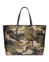 MICHAEL Michael Kors Medium Jet Set Camo Travel Tote - DUFFLE - 30F4GTVT2R