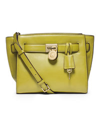MICHAEL Michael Kors Small Hamilton Travel Messenger - APPLE (GREEN) - 30F4GHXM2L