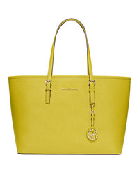 MICHAEL Michael Kors Medium Jet Set Travel Tote - APPLE (GREEN) - 30S3GTVT6L