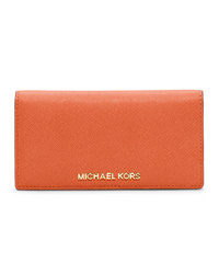 MICHAEL Michael Kors Jet Set Travel Card Holder - ORANGE - 32T4GTVF2L