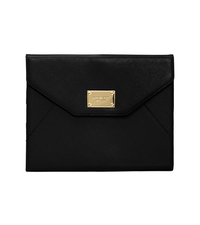 Saffiano Leather iPad Clutch - BLACK - SHD070ALUS50