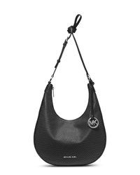 MICHAEL Michael Kors Medium Rhea Studded Slouchy Shoulder Bag - BLACK - 30F4SRHL2L