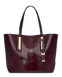Michael Kors Large Jaryn Calf Hair Tote - BORDEAUX - 31F4MJYT6H