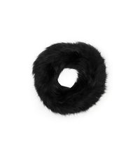 Fox Fur Cowl - BLACK - AC275
