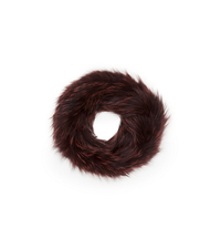 Fox Fur Cowl - BORDEAUX - AC275