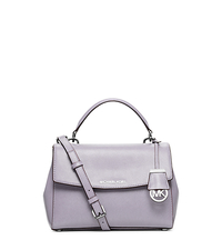 Ava Small Patent Saffiano Leather Crossbody Satchel - LILAC - 30H5SAVS1A