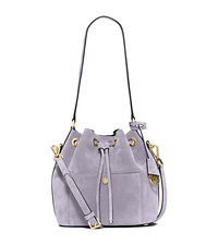 Greenwich Suede Bucket Bag - LILAC - 30H5TGRM2S