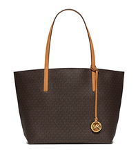 Hayley Large Tote - BROWN/PEANUT - 30S6GH3T7V
