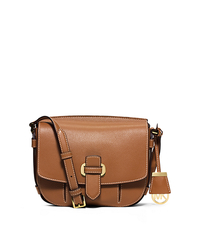 Romy Medium Leather Crossbody - ACORN - 30S6GRUM2L