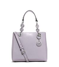 Cynthia Small Patent-Leather Satchel - LILAC - 30S6SCYS1A