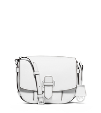 Romy Medium Leather Crossbody - OPTIC WHITE - 30S6SRUM2L