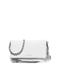 Corinne Medium Leather Crossbody - OPTIC WHITE - 30S6SR2M2L