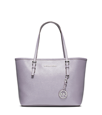 Jet Set Travel Saffiano Leather Small Tote - LILAC - 30T3STVT1L