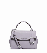 Ava Small Saffiano Leather Satchel - LILAC - 30T5SAVS2L
