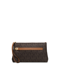 Charlton Medium Wristlet - BROWN - 32S6GCNW2V