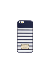 Striped Smartphone Case - NAVY/WHITE - 32S6GELL1R
