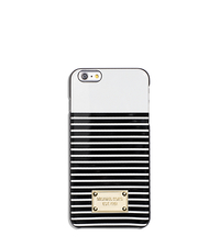 Striped Smartphone Case - WHITE/BLACK - 32S6GELL2R