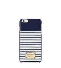 Striped Smartphone Case - NAVY/WHITE - 32S6GELL2R