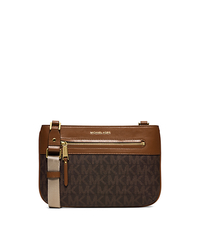 Jet Set Large Crossbody - BROWN - 32S6GJKC3B