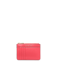 Liane Leather Card Case - CORAL - 32S6GL3D2L