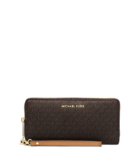 Jet Set Travel Wristlet - BROWN - 32S6GTVE4V