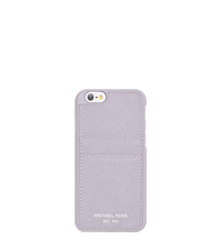 Saffiano Leather Smartphone Case - LILAC - 32S6SELL3L