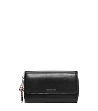 Isabel Leather Wallet - BLACK - 32S6SIPW1N