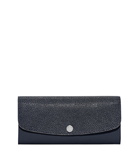 Juliana Large 3-in-1 Saffiano Leather Wallet - NAVY - 32S6SJRE7N