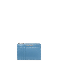 Liane Leather Cardholder - SKY - 32S6SL3D2L
