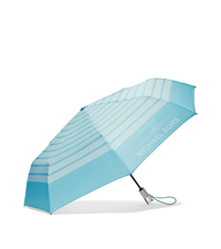 Striped Nylon Umbrella - CELADN/AZURE - 32S6SNYN4U