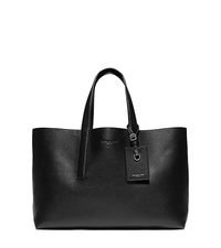 Mason Reversible Leather Tote - BLACK - 33S6MMST9T