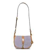 Jamie Large Suede Crossbody - LILAC - 30H5TJXS3S