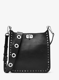 Sullivan Medium Leather Messenger - BLACK - 30H6SJ9M2T