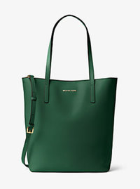 Emry Large Leather Tote - MOSS - 30F6GE4T7L
