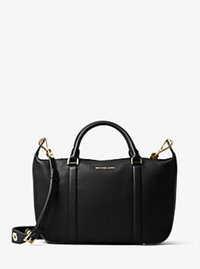 Raven Large Satchel - BLACK - 30F6GRXS2L